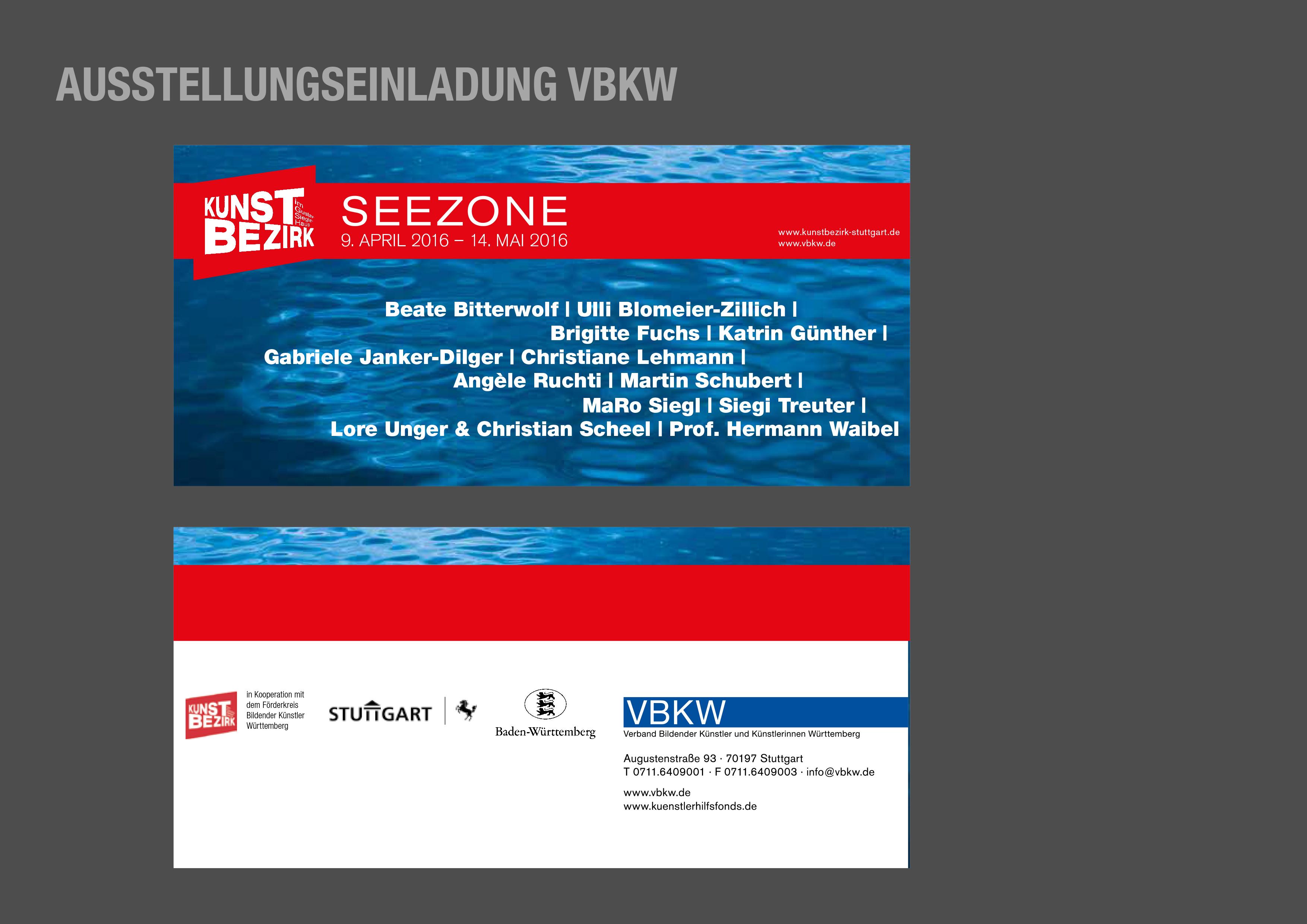 Ausstellungseinladung VBKW